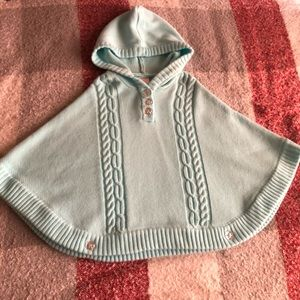 Gymboree Jackets & Coats - Gymboree knitted cape with hood